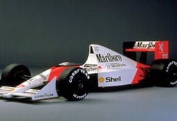 A McLaren Honda, yesterday