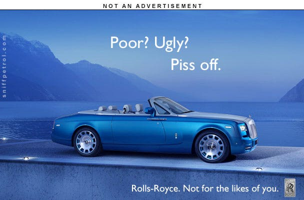 Dave Smith Auto >> NOT AD – Rolls-Royce | Sniff Petrol