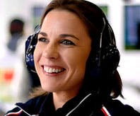 Claire Williams, yesterday