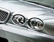 A teaser shot of the new Jag, yesterday