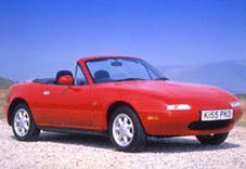 An Mazda MX5, yesterday