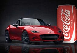 The new MX-5, yesterday