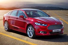 The new Mondeo, yesterday