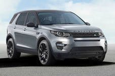 The new Discovery Sport, yesterday