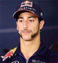 Daniel Ricciardo, yesterday