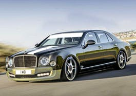 The new Mulsanne Speed, yesterday