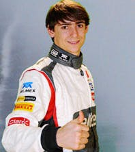 Esteban Gutierrez, yesterday