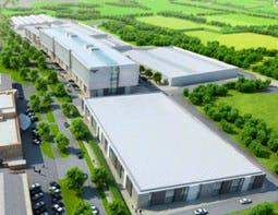How the new R&B centre will look, yesterday