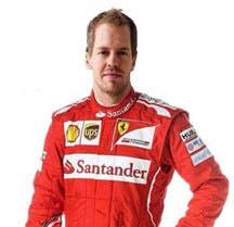 Sebastian Vettel, yesterday