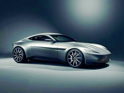 The new Aston DB10, yesterday