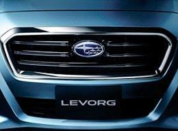 The Subaru Levorg, yesterday