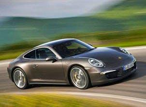 An Porsche, yesterday