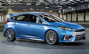 The new Focus RS, yesterday