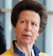 Princess Anne, yesterday