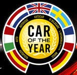 The European Car of the Year logo, yesterday