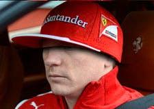 Kimi Raikkonen, yesterday