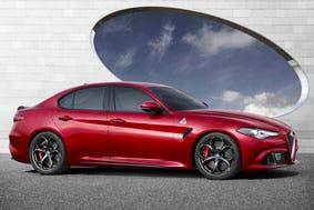 The Alfa Giulia, yesterday