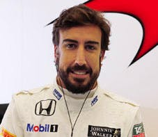 Fernando Alonso, yesterday