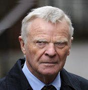 Max Mosley, yesterday