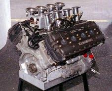 An Formula 1 engine, yesterday