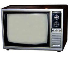 An television, yesterday
