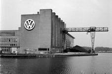 The Volkswagen factory, yesterday