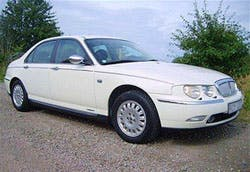 The Rover 75 Brexit in the place where it is happiest; yesterday